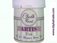 BLANCO ROTO PINTURA TIZA CHALK PAINT ARTIS 250 ml