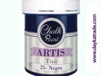 NEGRO PINTURA TIZA CHALK PAINT ARTIS 250 ml