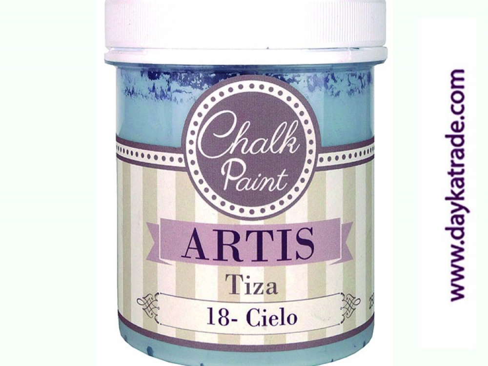 CIELO PINTURA TIZA CHALK PAINT ARTIS 250 ml